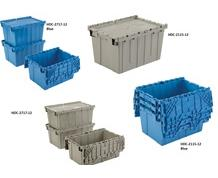 ATTACHED LID TOTES
